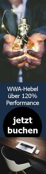 WWA-Hebel über 124,10% Performance