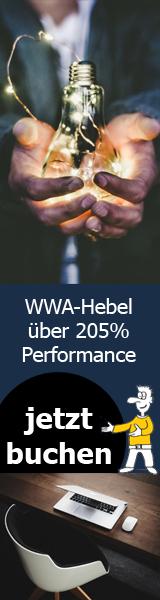 WWA-Hebel über 260% Performance