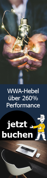 WWA-Hebel über 260% Performance